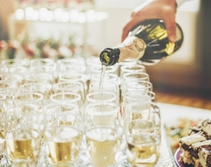 champagne lacave reception