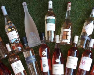 LaCavecholet Assortiment vins roses