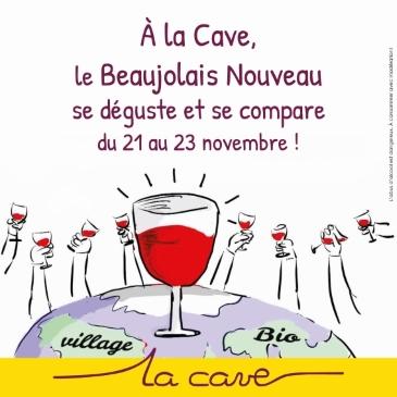 La Cave fete le beaujolais nouveau 1
