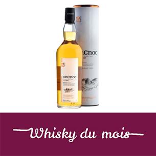 An Cnoc 12 ans whisky du mois fevrier 2020