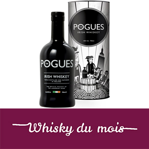 Whisky du mois Pogues Irish whisky