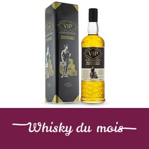 VIP ecossais whisky du mois