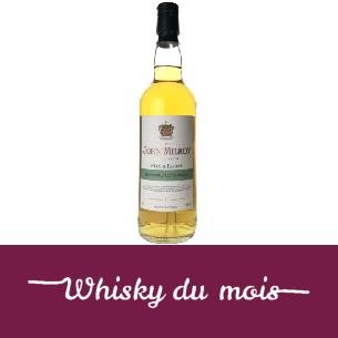 John Mileroy Speyside Blended malt whisky du mois