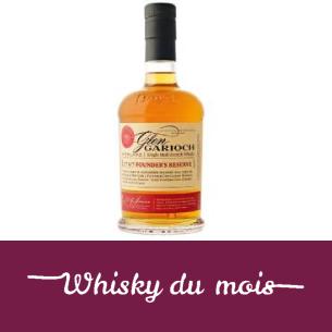 Glen Gariosh 1797 whisky du mois